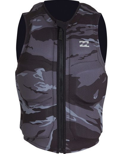 1 Revolution Wake Vest Black MWVEVBIN Billabong