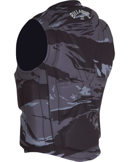 3 Revolution Wake Vest Black MWVEVBIN Billabong