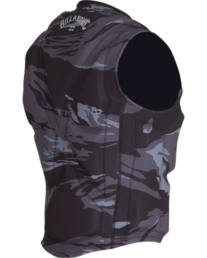 5 Revolution Wake Vest Black MWVEVBIN Billabong