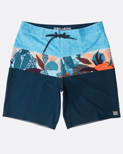 "0 Tribong Pro 19"" Boardshorts Blau N1BS05BIP9 Billabong"