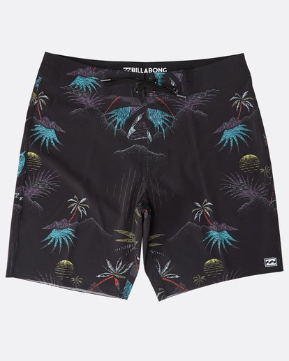 "0 Sundays Pro 18"" Boardshorts Noir N1BS06BIP9 Billabong"