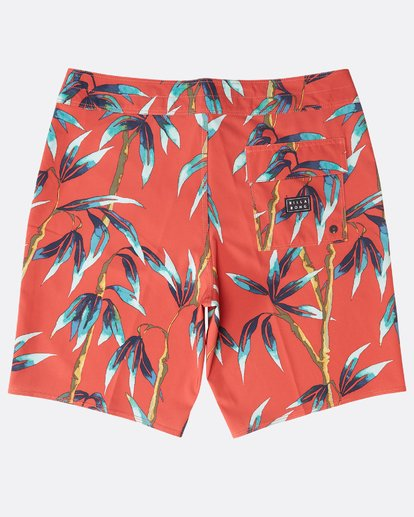"1 Sundays Pro 18"" Boardshorts Red N1BS06BIP9 Billabong"