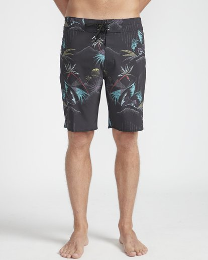 "4 Sundays Pro 18"" Boardshorts Noir N1BS06BIP9 Billabong"