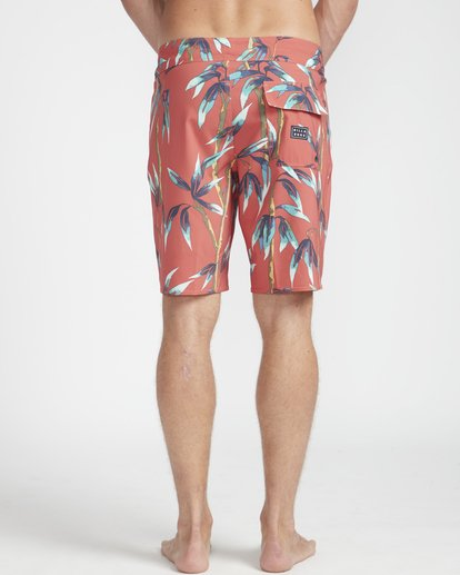 "7 Sundays Pro 18"" Boardshorts Red N1BS06BIP9 Billabong"