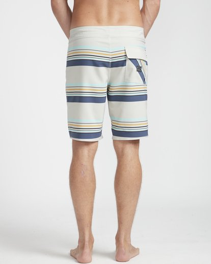 "5 Sundays Stripe Pro 19"" Boardshorts Grey N1BS08BIP9 Billabong"