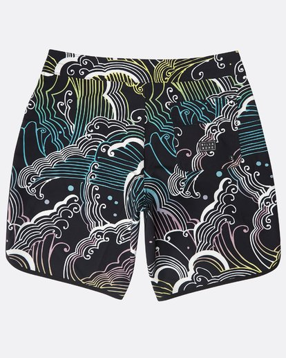 "1 73 Lineup Pro 19"" Boardshorts Black N1BS09BIP9 Billabong"