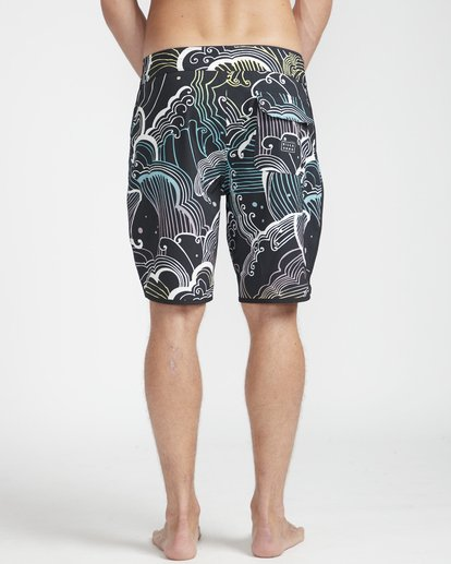 "3 73 Lineup Pro 19"" Boardshorts Black N1BS09BIP9 Billabong"