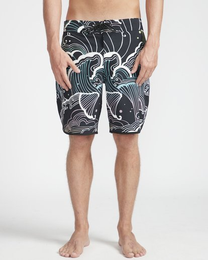 "5 73 Lineup Pro 19"" Boardshorts Black N1BS09BIP9 Billabong"