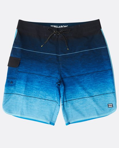 "0 73 Stripe Pro 19"" Boardshorts Blue N1BS10BIP9 Billabong"