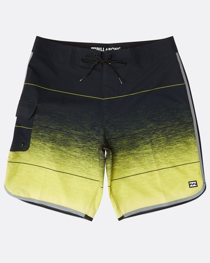 "0 73 Stripe Pro 19"" Boardshorts Gelb N1BS10BIP9 Billabong"