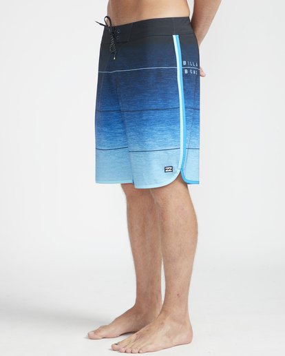 "5 73 Stripe Pro 19"" Boardshorts Blue N1BS10BIP9 Billabong"
