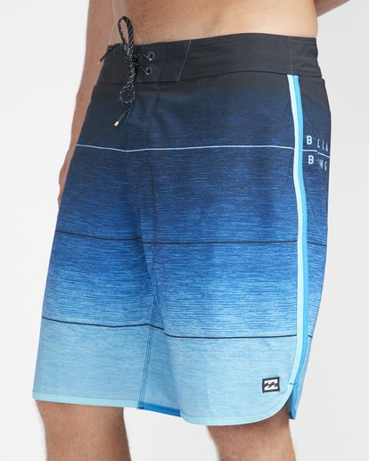 "3 73 Stripe Pro 19"" Boardshorts Blue N1BS10BIP9 Billabong"