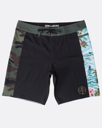 "0 D Bah Pro 18"" Boardshorts Black N1BS13BIP9 Billabong"