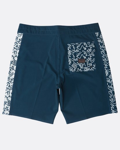 "1 D Bah Pro 18"" Boardshorts Blue N1BS13BIP9 Billabong"