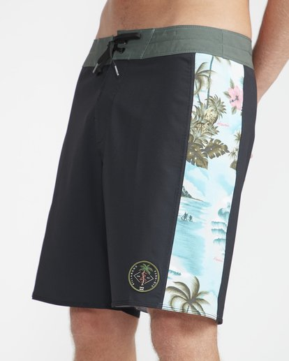 "2 D Bah Pro 18"" Boardshorts Black N1BS13BIP9 Billabong"