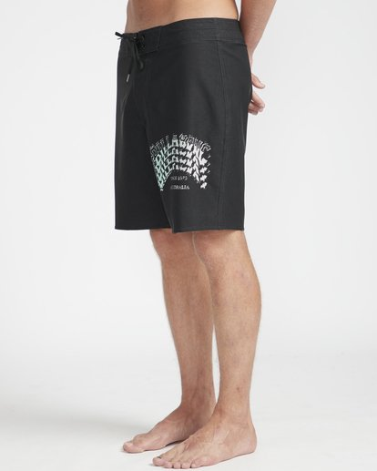 "5 Warp Pro 18"" Boardshorts Black N1BS14BIP9 Billabong"