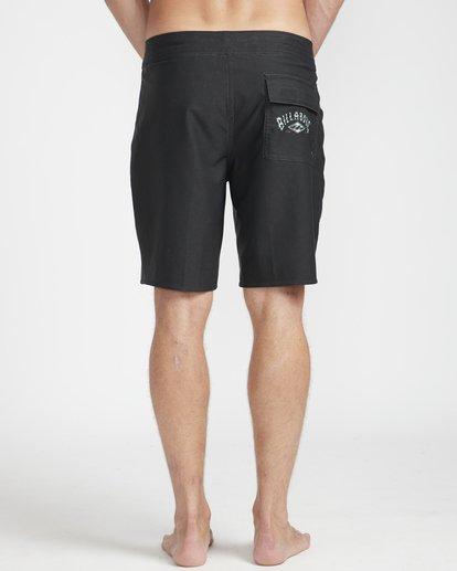 "6 Warp Pro 18"" Boardshorts Black N1BS14BIP9 Billabong"