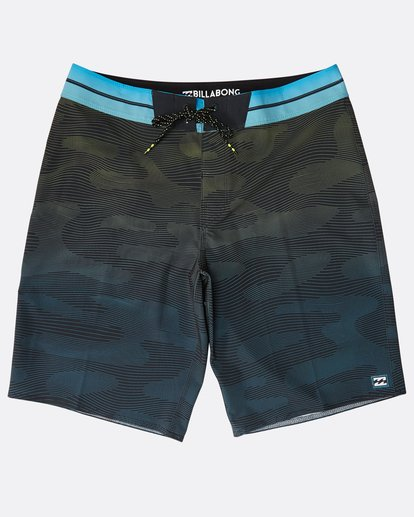 "0 Resistance Pro 20"" Boardshorts Green N1BS16BIP9 Billabong"
