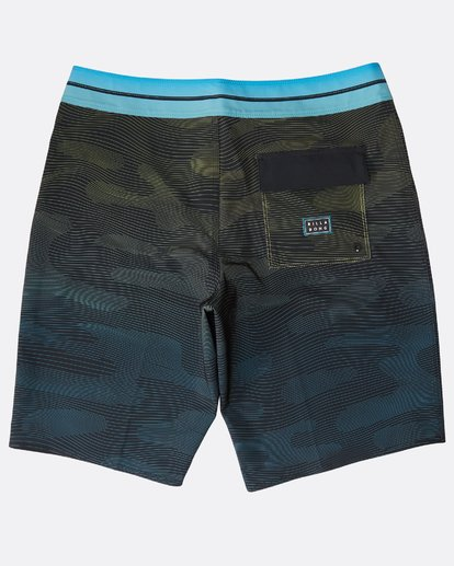 "1 Resistance Pro 20"" Boardshorts Green N1BS16BIP9 Billabong"