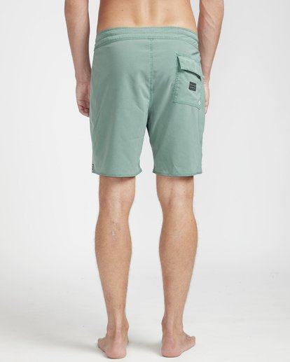 "7 All Day Ovd Pro 17"" Boardshorts Verde N1BS19BIP9 Billabong"