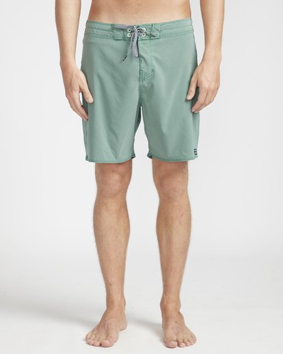 "4 All Day Ovd Pro 17"" Boardshorts Verde N1BS19BIP9 Billabong"