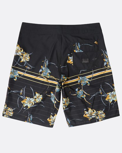 "1 Resistance Floral Originals 20"" Boardshorts Black N1BS29BIP9 Billabong"