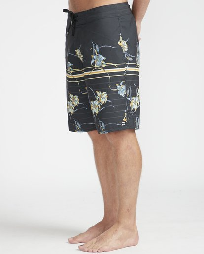 "6 Resistance Floral Originals 20"" Boardshorts Black N1BS29BIP9 Billabong"