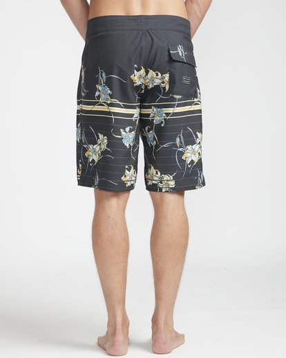 "8 Resistance Floral Originals 20"" Boardshorts Black N1BS29BIP9 Billabong"