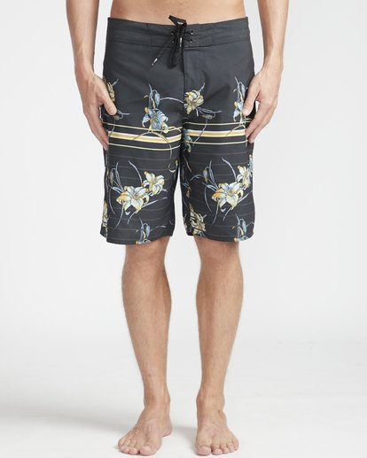 "5 Resistance Floral Originals 20"" Boardshorts Black N1BS29BIP9 Billabong"