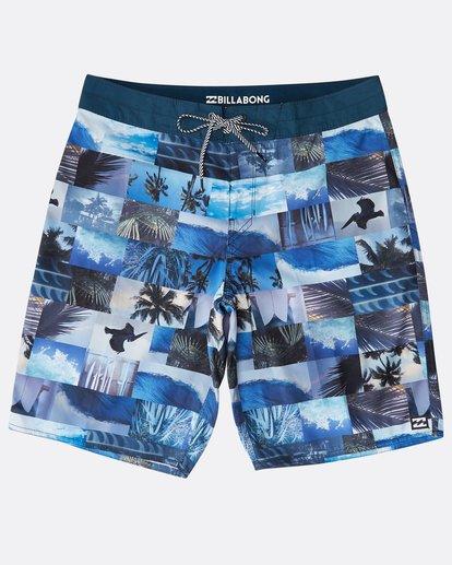 "0 Horizon Originals 20"" Boardshorts Blue N1BS30BIP9 Billabong"