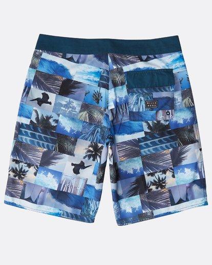 "1 Horizon Originals 20"" Boardshorts Blue N1BS30BIP9 Billabong"