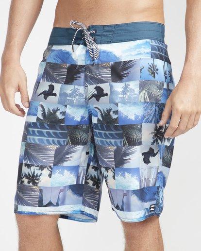 "2 Horizon Originals 20"" Boardshorts Blue N1BS30BIP9 Billabong"