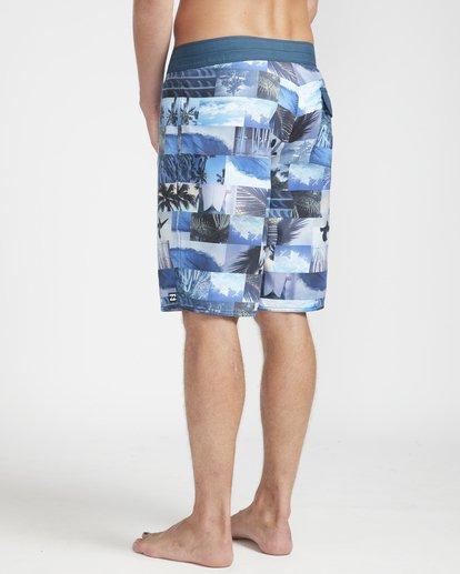 "6 Horizon Originals 20"" Boardshorts Blue N1BS30BIP9 Billabong"