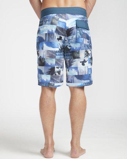 "7 Horizon Originals 20"" Boardshorts Blue N1BS30BIP9 Billabong"