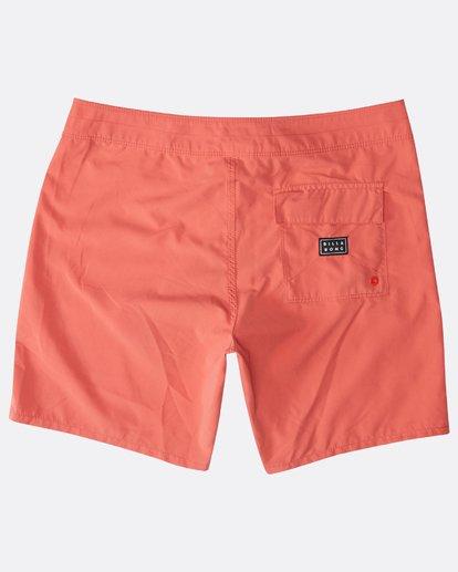 "1 All Day Originals 17"" Boardshorts Orange N1BS34BIP9 Billabong"