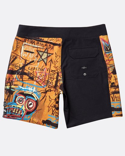"1 Hanibal Pro 17"" Boardshorts Orange N1BS40BIP9 Billabong"