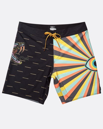 "0 Viper Pro 18"" Boardshorts Black N1BS44BIP9 Billabong"