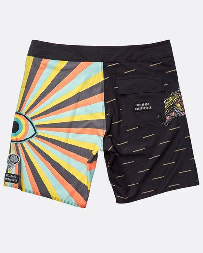 "1 Viper Pro 18"" Boardshorts Black N1BS44BIP9 Billabong"