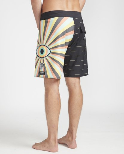 "7 Viper Pro 18"" Boardshorts Black N1BS44BIP9 Billabong"