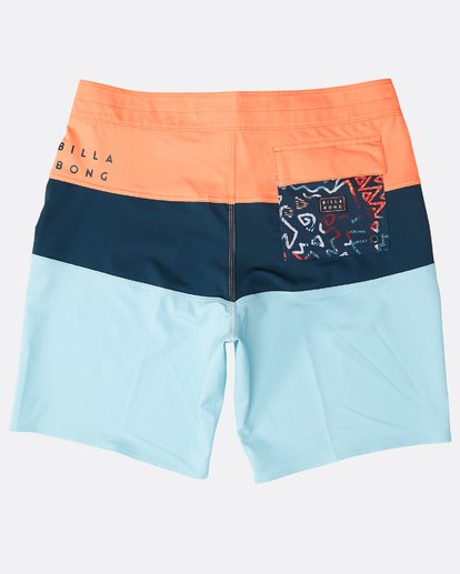 "1 Tribong Pro Solid 19"" Boardshorts Orange N1BS47BIP9 Billabong"