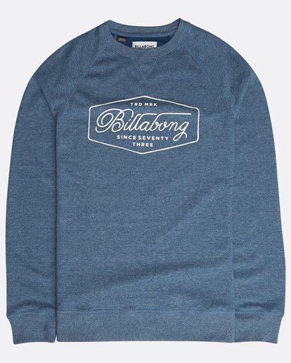 0 Trademark Sweatshirt Blau N1CR01BIP9 Billabong