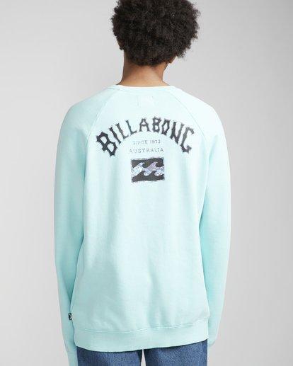 1 Archin Sweatshirt Grün N1CR03BIP9 Billabong