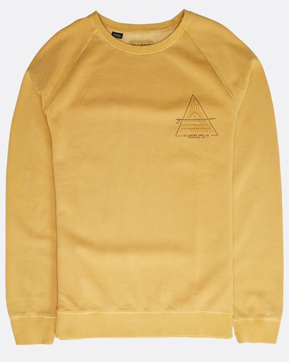 0 Prismboard Sweatshirt Gelb N1CR04BIP9 Billabong