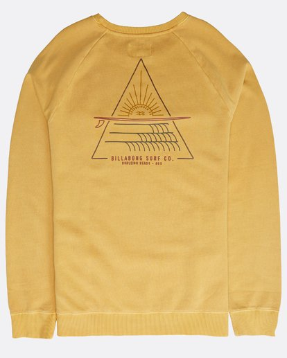 1 Prismboard Sweatshirt Jaune N1CR04BIP9 Billabong