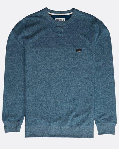 0 All Day Crew Sweatshirt Blau N1FL01BIP9 Billabong