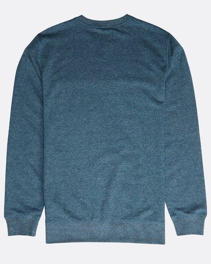 1 All Day Crew Sweatshirt Blau N1FL01BIP9 Billabong