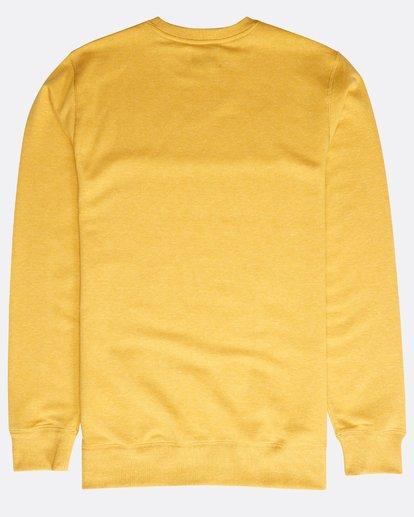 1 All Day Crew Sweatshirt Gelb N1FL01BIP9 Billabong