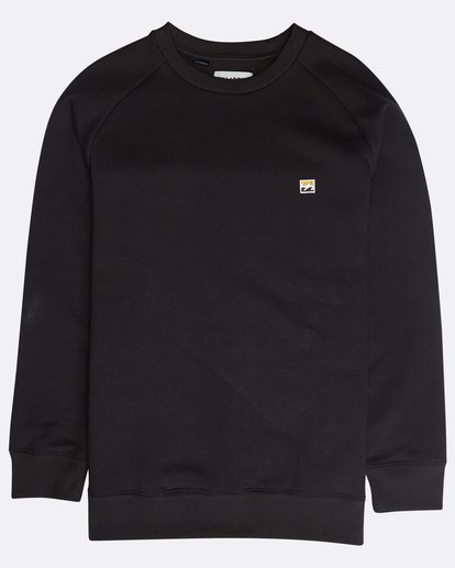 0 Original Crew Sweatshirt Schwarz N1FL04BIP9 Billabong