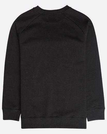 1 Original Crew Sweatshirt Schwarz N1FL04BIP9 Billabong