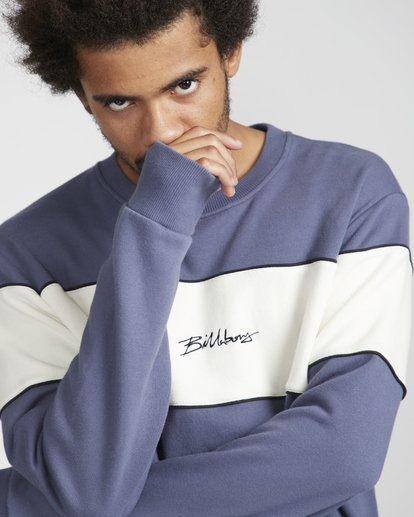 0 Ninety One Crew Sweatshirt Violett N1FL17BIP9 Billabong